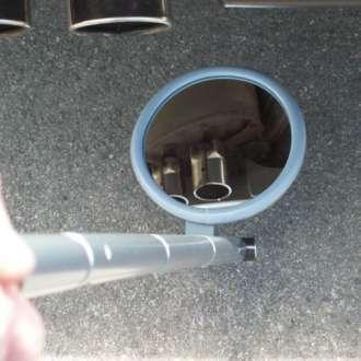 "230mm (9"") Lightweight Lookunder Mirror"