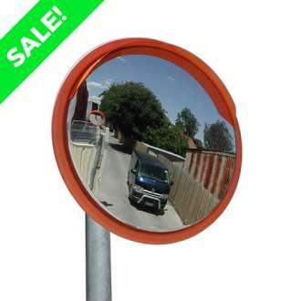 "450mm (18"") Outdoor Anti-Vandal Traffic Mirror"