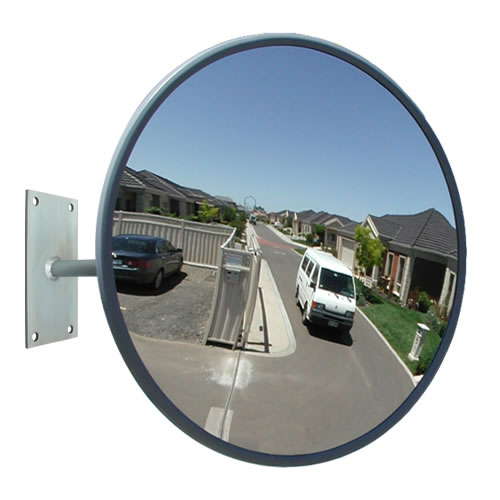 900mm outdoor heavy duty acrylic convex mirror for Convex mirror