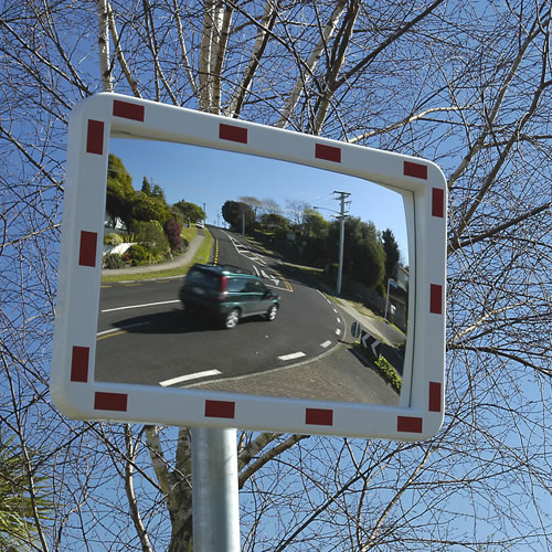 600x400mm High Visibility Traffic Mirror