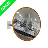 "600mm (24"") Acrylic Food Hygiene Mirror"