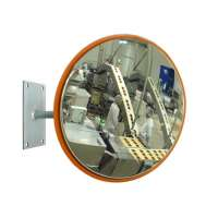 "600mm (24"") Stainless Steel Food Hygiene Mirror"