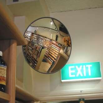 "500mm (20"") Indoor Economy Convex Mirror"