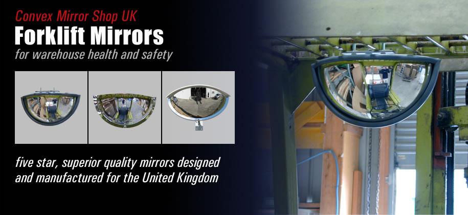 Fork Lift Mirrors