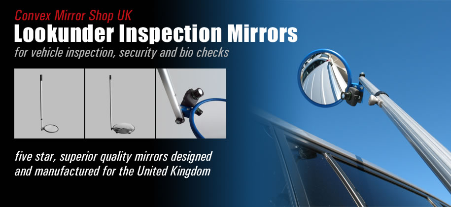 Lookunder Inspection Mirrors
