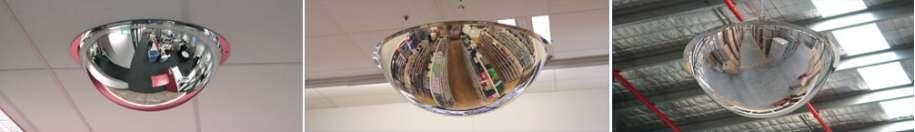 Indoor Full Dome Acrylic Mirrors