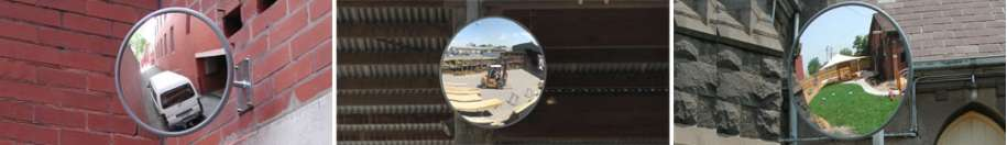 Outdoor Acrylic Convex Mirrors