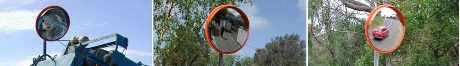 Outdoor Anti-Vandal Mirrors