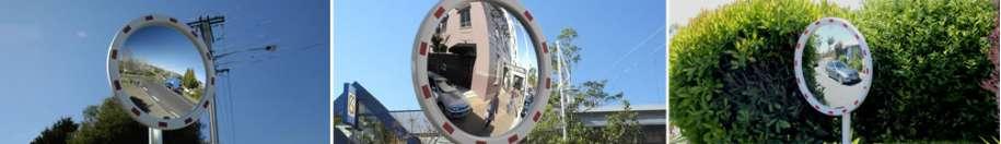 High Visibility Traffic Mirrors